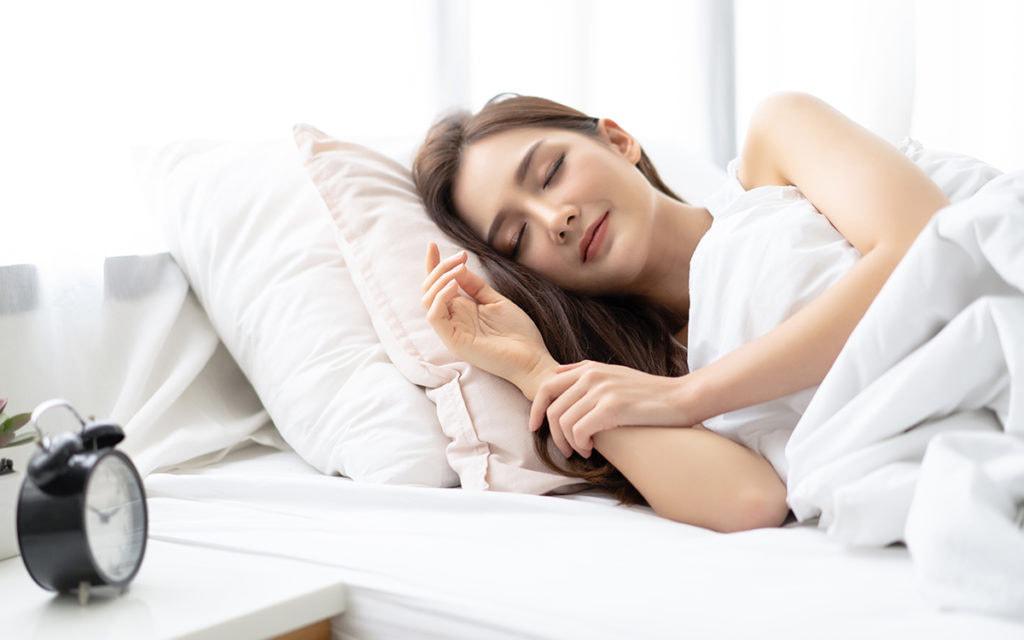 การนอนหลังฉีดฟิลเลอร์