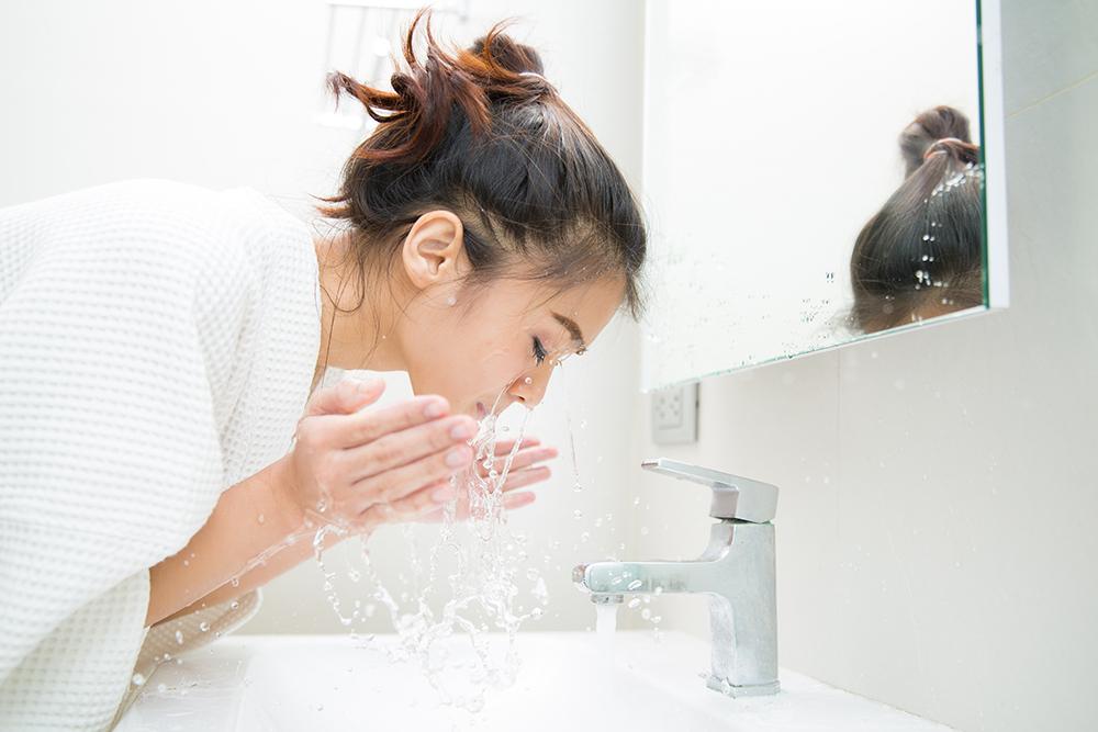 ทำความสะอาดผิวลดผิวหมองคล้ำ